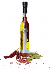 Olivenöl nativ extra mit Chilli, Lorbeer und Pfeffer La Chinata