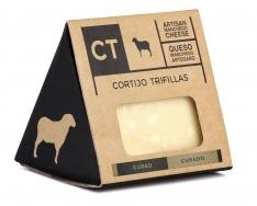 Stück Manchego-Käse gereift CT