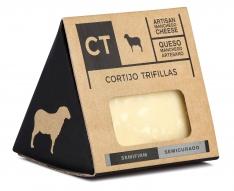 Stück Manchego-Käse halbgereift CT