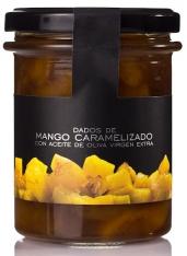 Karamellisierte Mangowürfel La Chinata