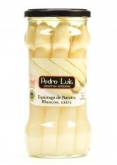 Weißer Spargel aus Navarra extradick Pedro Luis