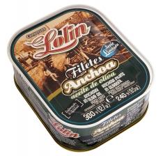 Anchovi-Filets in Olivenöl Lolin limitierte Auflage