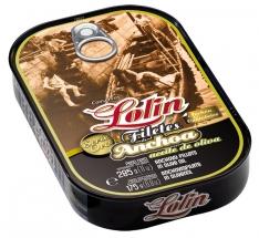 Anchovi-Filets in Olivenöl Lolin Goldserie