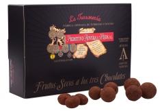 Mandeln mit drei Schokoladensorten Turrones Primitivo
