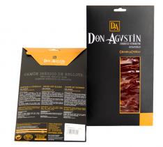 Pata Negra Schinken aus Eichelmast Don Agustín handgeschnitten in Scheiben
