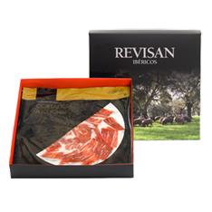 Pata Negra Schinken aus Eichelmast Revisan von Hand geschnitten - Premiumset