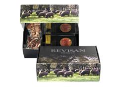 Pata Negra Schinken aus Wildpflanzenmast Revisan komplett von Hand geschnitten – Premiumset