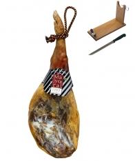 Serrano Schinken Bodega Mayoral + Schinkenhalter + Messer