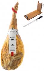 Serrano Schinken Duroc Reserva Artysán + Schinkenhalter + Messer