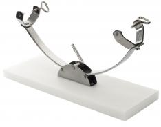 Schinkenhalter mit Laufschiene Polyethylen Steelblade