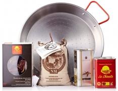 Paella-Set La Chinata für 4 Personen