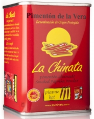 Paprikapulver geräuchtert scharf La Chinata