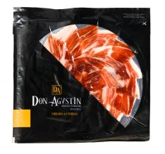 Teller Pata Negra Schinken aus Eichelmast Don Agustín handgeschnitten in Scheiben
