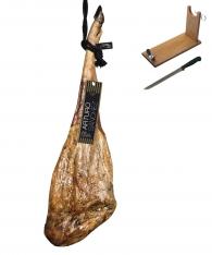 Reiner 100% Pata Negra Schinken aus Eichelmast Gran Reserva Arturo Sánchez + Schinkenhalter + Messer