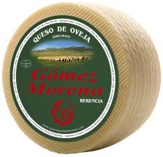 Schafskäse halbgereift handgemacht halbgroß Gómez Moreno
