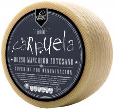 Manchego-Käse gereift D.O. Manchego Carpuela halbgroß Gómez Moreno