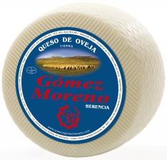 Weichkäse Schafsmilch halbgroß Gómez Moreno