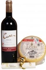 Käse und Rotwein Weihnachtsspecial