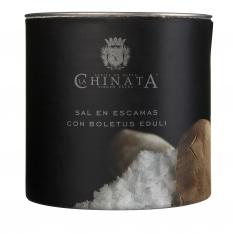 Meersalzflocken mit Steinpilz La Chinata