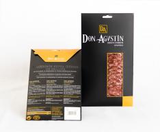 Pata Negra Salchichón Dauerwurst extra aus Eichelmast Don Agustín von Hand geschnitten