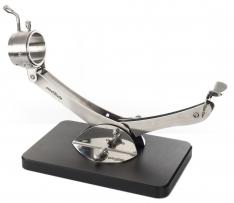 Gelenk-Schinkenhalter drehbar 360° Edelstahl schwarz Steelblade