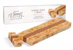 Turrón mit Crème Brûlée Albert Adrià